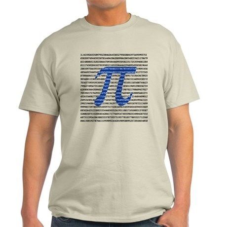 1000 Digits of Pi Light T-Shirt