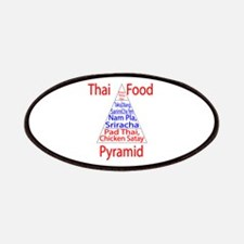 Thai Food Pyramid Patches