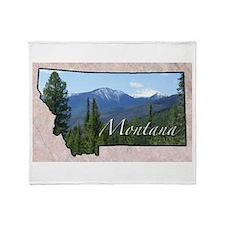 Cute Montana Throw Blanket