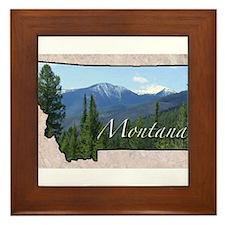 Cute Montana Framed Tile