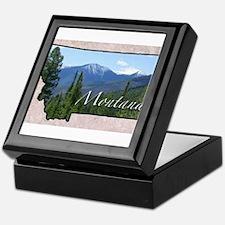 Cute Montana Keepsake Box