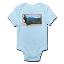 Cute Montana Infant Bodysuit