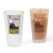 Cute Idaho Drinking Glass