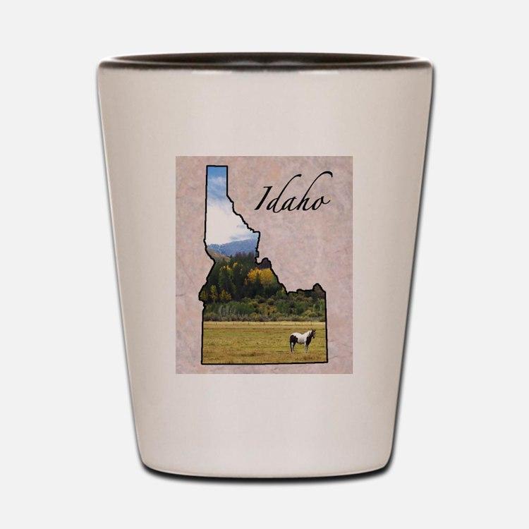 Cute Idaho state Shot Glass