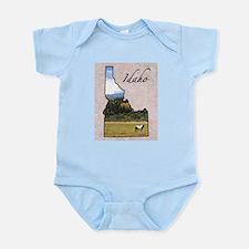 Funny Idaho Infant Bodysuit