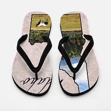 Cute Idaho Flip Flops