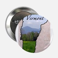 "Unique Vermont 2.25"" Button"