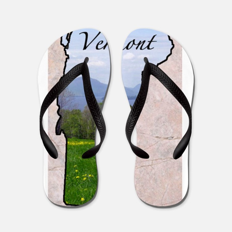 Cute Vermont Flip Flops