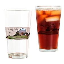 Cute Virginia Drinking Glass