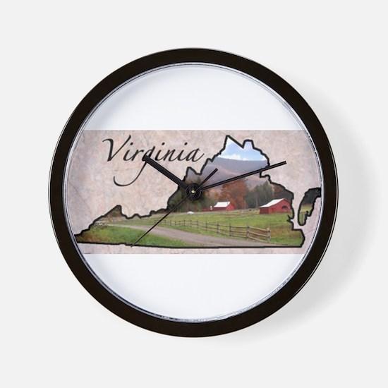 Funny States Wall Clock