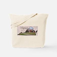 Cute Virginia cavaliers Tote Bag