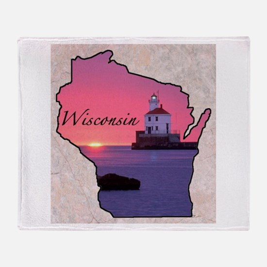 Cute Wisconsin Throw Blanket