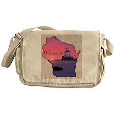 Cute Wisconsin Messenger Bag