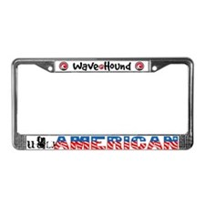 Ugly American License Plate Frame