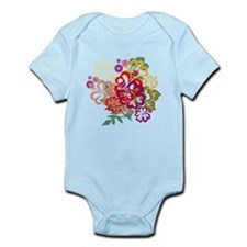 Cheery Flowers Infant Bodysuit