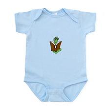 Unique Bookworm Infant Bodysuit
