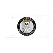 Emblem - Taliban Hunting Club Aluminum License Pla
