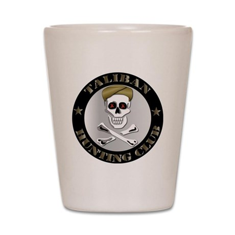 Emblem - Taliban Hunting Club Shot Glass