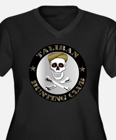 Emblem - Taliban Hunting Club Women's Plus Size V-