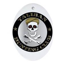 Emblem - Taliban Hunting Club Ornament (Oval)