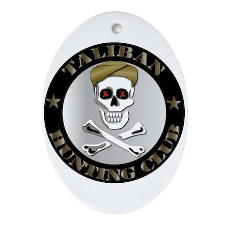 Emblem - Taliban Hunting Club Ornament (Oval)