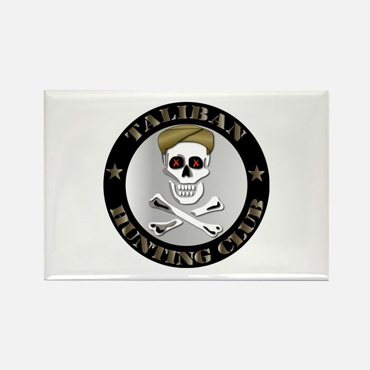 Emblem - Taliban Hunting Club Rectangle Magnet