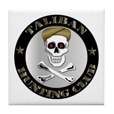 Emblem - Taliban Hunting Club Tile Coaster