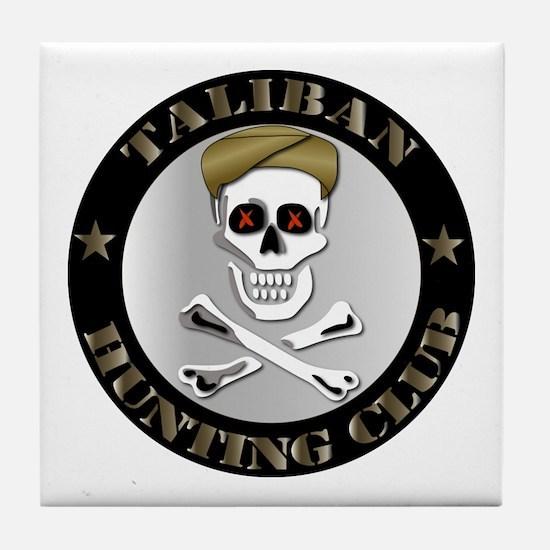 Emblem - Taliban Hunting Club Tile Coaster