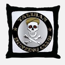 Emblem - Taliban Hunting Club Throw Pillow