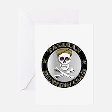 Emblem - Taliban Hunting Club Greeting Card