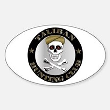 Emblem - Taliban Hunting Club Sticker (Oval)