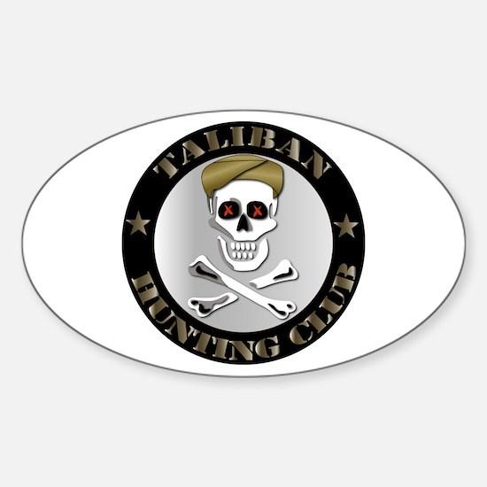 Emblem - Taliban Hunting Club Sticker (Oval)