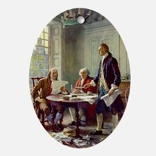 Founding Fathers Ornament (Oval)