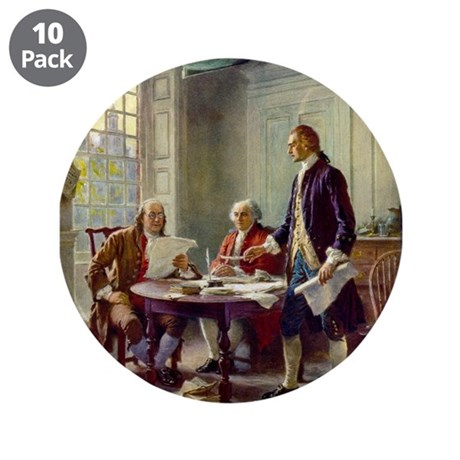 "Founding Fathers 3.5"" Button (10 pack)"