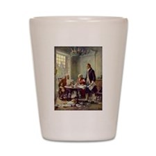 Founding Fathers Shot Glass