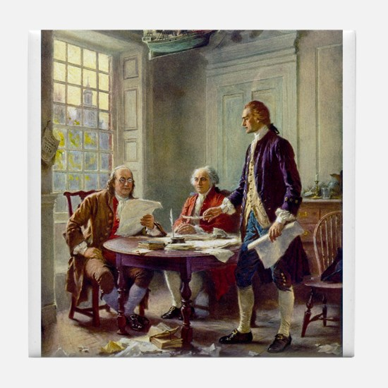 Founding Fathers Tile Coaster