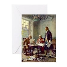 Founding Fathers Greeting Cards (Pk of 20)