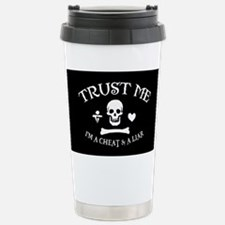 Trust the Pirate Stainless Steel Travel Mug