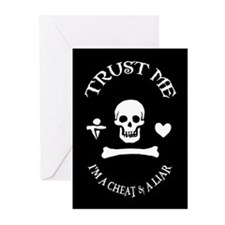Trust the Pirate Greeting Cards (Pk of 10)