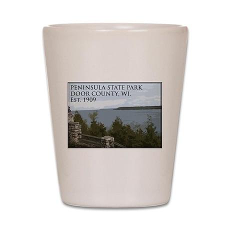 Peninsula State Park Shot Glass