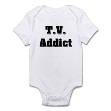 Television Addict Infant Creeper