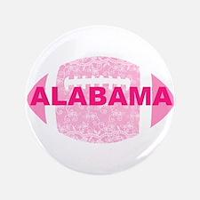 "Alabama Football Pink Lace 3.5"" Button"