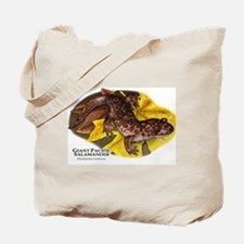 Giant Pacific Salamander Tote Bag