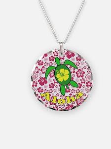 Aloha Hawaii Turtle Necklace