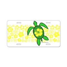 Hawaii Turtle Aluminum License Plate