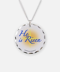 He is Risen Necklace