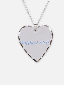 Matthew 22:37-40 Necklace