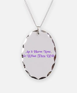 Wiccan Rede Necklace