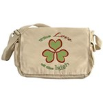 Love of the Irish Messenger Bag