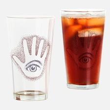 Earthy Petro EyeHand Drinking Glass